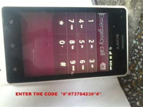 all sony xperia pattern unlock or lock code remove just in sony xperia go how to unlock forgot pattern lock youtube