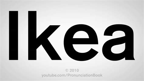 ikea how to pronounce how to pronounce ikea youtube