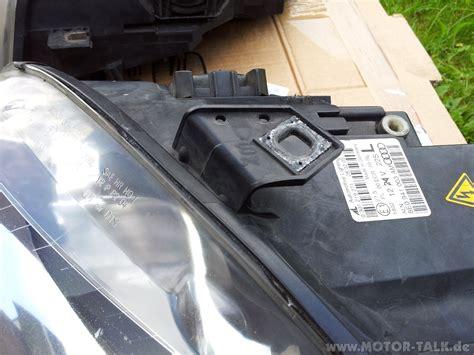 Motorrad Scheinwerfer Milchig audi a4 scheinwerfer xenon 8e0941004am 8e0941003am