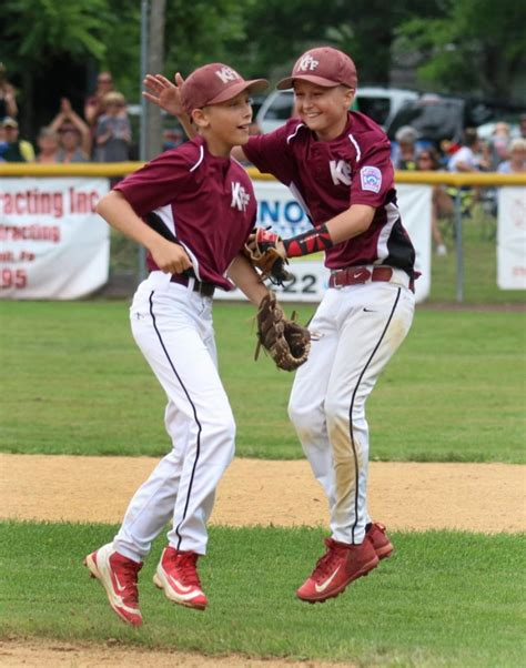 pa little league sectionals little league kingston forty fort routs hollidaysburg
