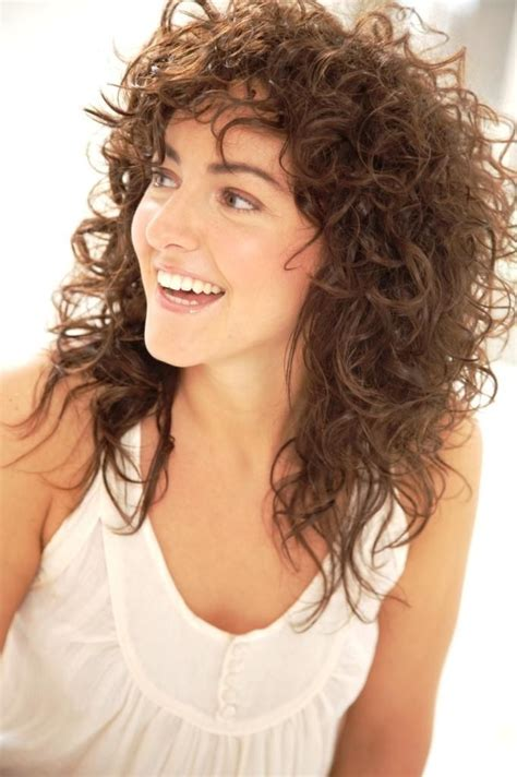 shaggy permed hair shaggy perm hairstyles 20 best curly cuts long