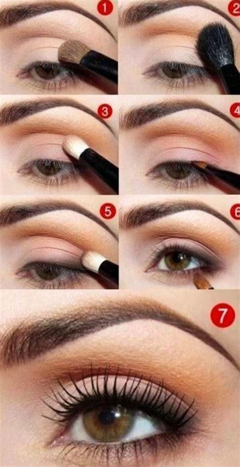 natural eye makeup tutorial for beginners 12 easy simple fall makeup tutorials for beginners