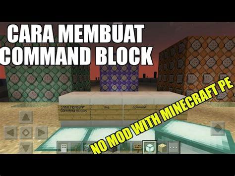 membuka youtube di block tutorial membuat command block di minecraft pe youtube