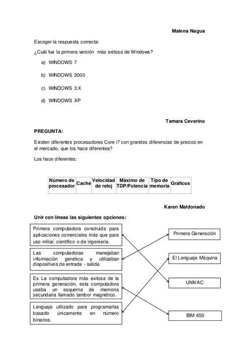 Preguntas de informatica 002