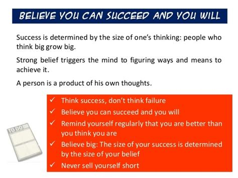 The Magic Of Thinking Success Murah Meriah mlm tips 17 ways on how to think big rayhigdon