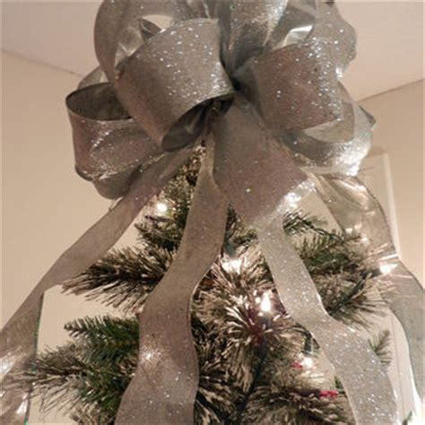 youtube how to make a silver xmas bow shop large silver glitter bow on wanelo