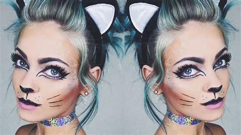 glitter eyeliner tutorial youtube glitter kitty makeup tutorial youtube