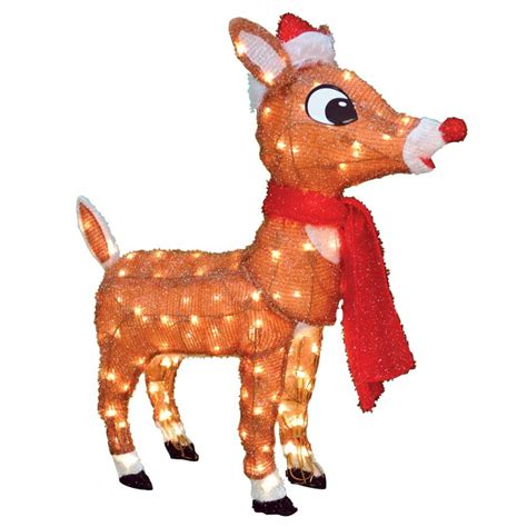 shop rudolph the red nosed reindeer pre lit reindeer