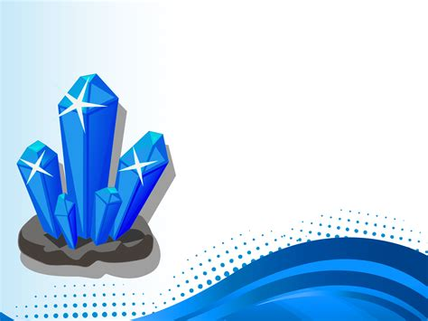 3d Crystal Backgrounds 3d Blue Templates Free Ppt Grounds And Powerpoint Powerpoint Templates 3d