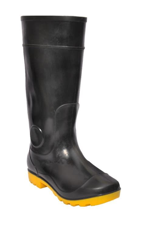 cheap black boots cheap black and yellow boots wellington boot gumboot
