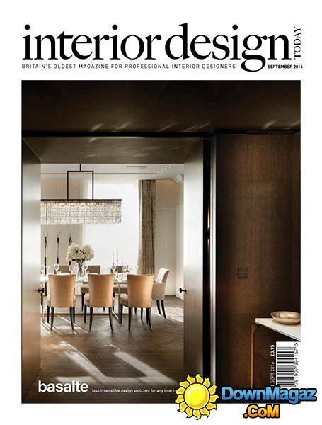 Home Interior Design Magazine Pdf Download interior design today august september 2016 187 download