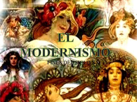 imagenes sensoriales del modernismo modernismo