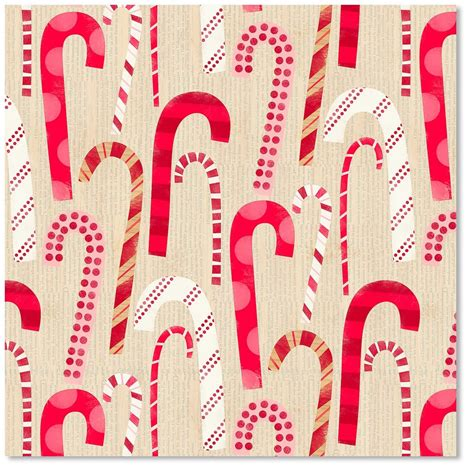 hallmark christmas reversible wrapping paper candy canes 3 pack canes wrapping paper prints wrapping wrapping