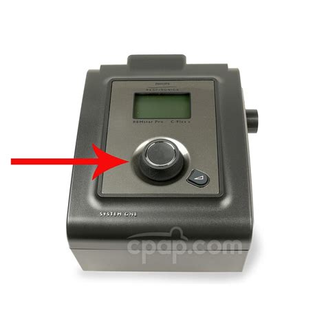 cpap machine knob ui for philip respironics pr machines