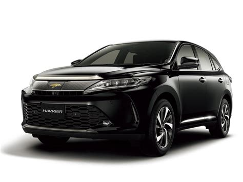 toyota harrier toyota harrier рестайлинг 2017 2018 suv 3 поколение