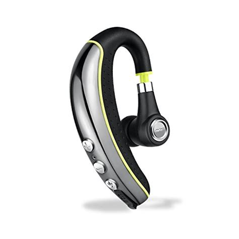 Vivan Bt100 Bluetooth V4 1 Headset With Selfie Black Original bluetooth headset v4 1 areuok wireless business headset earpiece in ear earbuds headphones with
