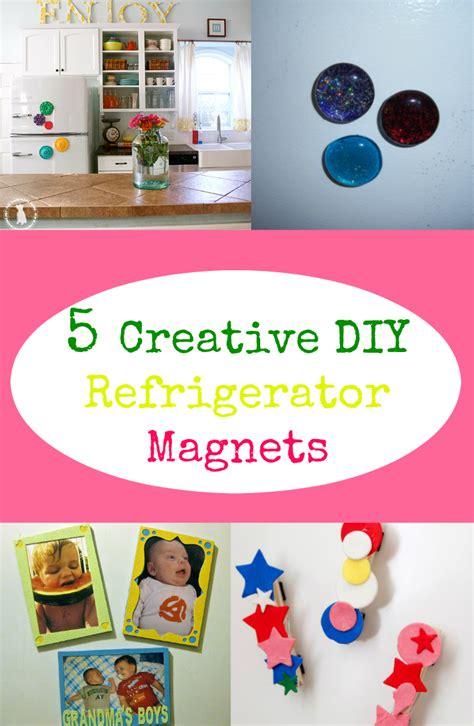 Handmade Fridge Magnets Ideas - 5 creative diy refrigerator magnets discountqueens