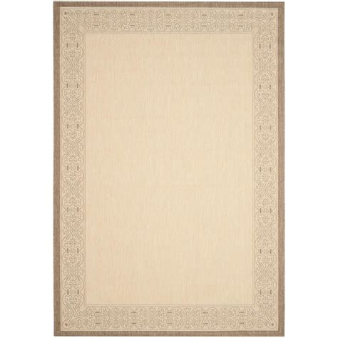 safavieh cy2099 3001 courtyard indoor outdoor area rug beige lowe s canada safavieh courtyard brown 6 ft 7 in x 9 ft 6 in indoor outdoor area rug cy2099 3001 6