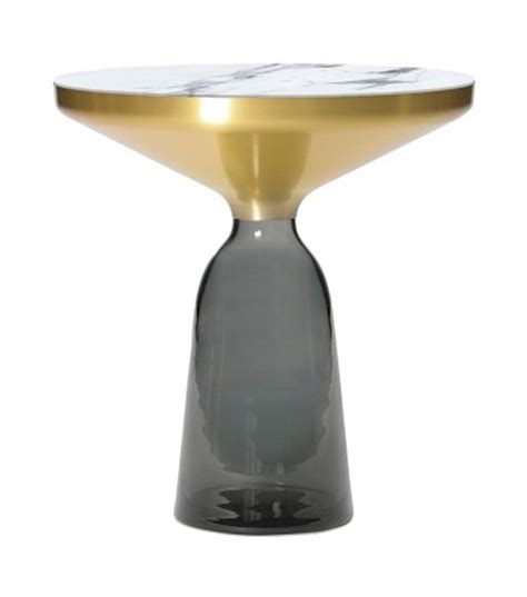 Bell Table by Bell Classicon Side Table Marble Top Milia Shop