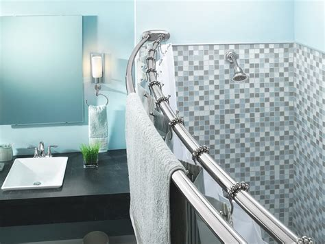 shower curtain bar shower curtain bar curved home design ideas