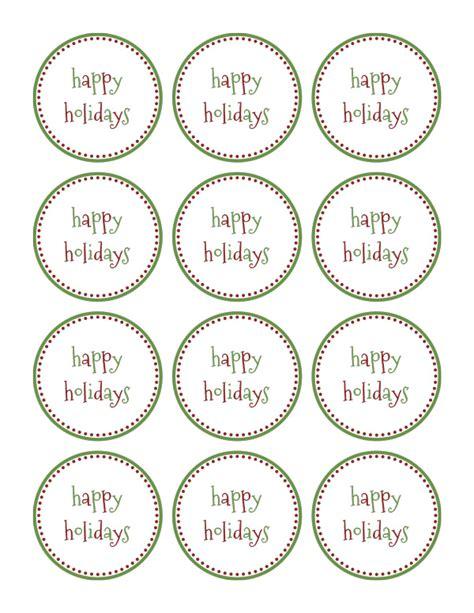printable gift tags for holidays happy holidays gift tags printable christmas decore