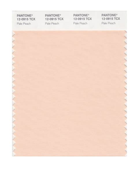 peach pantone pantone smart swatch 12 0915 pale peach colour trend