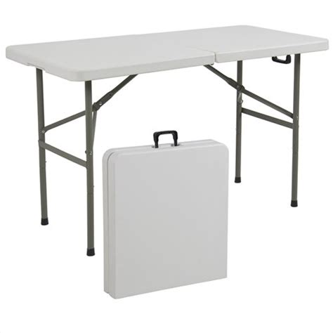 Portable Folding Tables by Best Choiceproducts Folding Table Portable Plastic Indoor