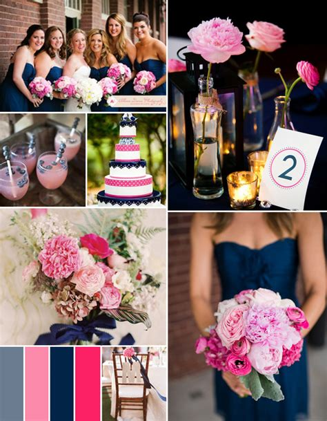 pink and blue wedding colors fabulous pink wedding color combo ideas for different