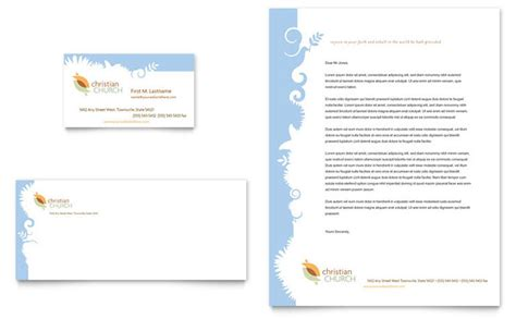 church business cards templates free christian church business card letterhead template design