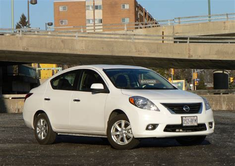 how petrol cars work 2012 nissan versa parking system fuel economy makes up for versa s deficiencies toronto star