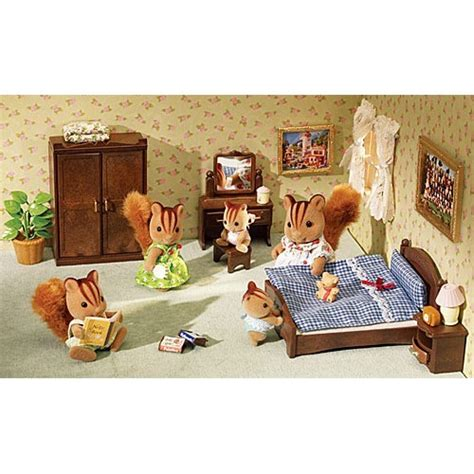 calico critters master bedroom set educational toys planet