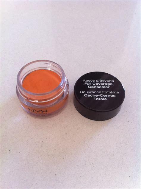 orange color corrector nyx orange concealer ravin
