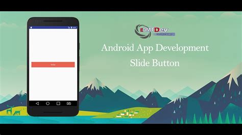 slide up layout in android android studio tutorial slide button youtube