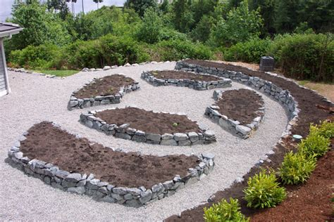 Rock Garden Beds Island Rock And Water Gig Harbor Wa