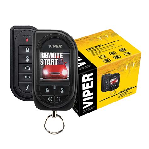 Alarm Viper Viper Color Oled 2 Way Security Remote Start System