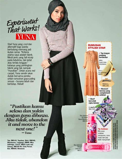 Yuna Kulot ok i am a new muslim and i i cannot get away with leg showing like this but most quot maxi