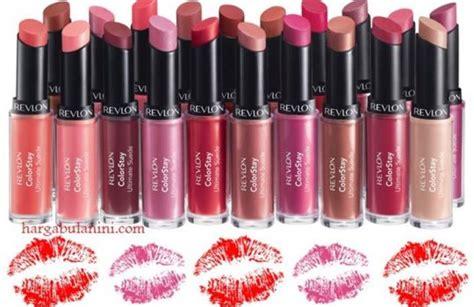 Daftar Harga Bedak Caring Colours harga lipstik revlon colorstay terbaru juli 2018
