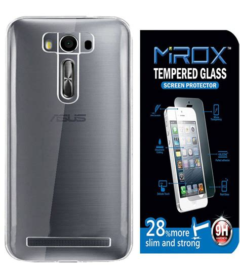 Screen Guard Asus Zenfone 2laser 5 5 Inch Original Clear mirox back cover for asus zenfone 2 laser ze500kl 5 inch