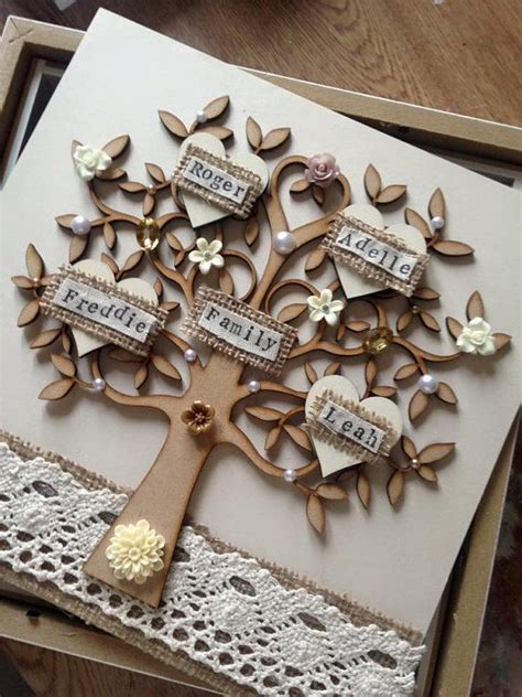 Handmade Family Tree Ideas - 1000 ideas about day gifts on best