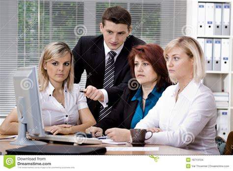 Office Team Office Team Stock Images Image 18713104