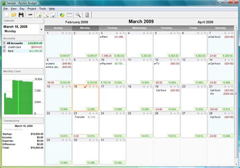 calendar budget template the best calendar based finance management apps