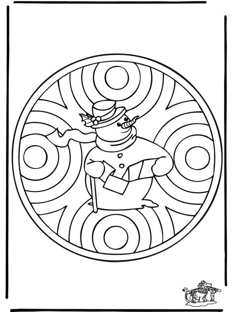mandala coloring pages winter winter mandala 1 in and around the house