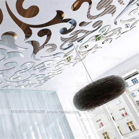Cermin Akrilik langit langit diy perak stiker dinding 1 mm vinyl cermin akrilik stiker dekorasi rumah busana