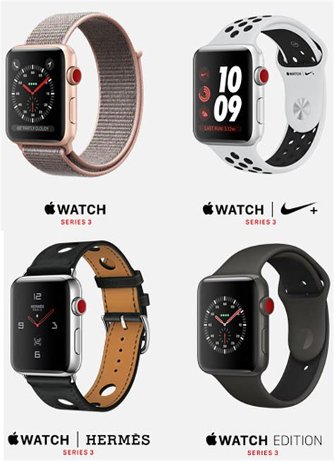 Apple Series 4 Colors by Apple Series 3 With Cellular Lte Price And Release Date Announced Details Here Redmond Pie