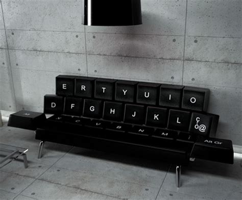 couch keyboard tray keyboard sofa