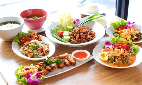 thai dinner table setting exploring thai food cultural importance staple