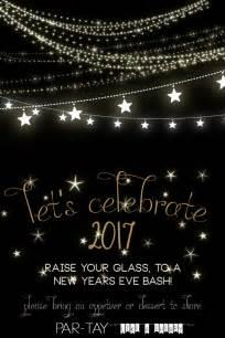 free new years invitation like a cherry