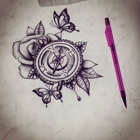 atomic tattoo ta 25 best compass ideas on