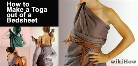 bed sheet toga make a toga out of a bedsheet life toga party and costumes