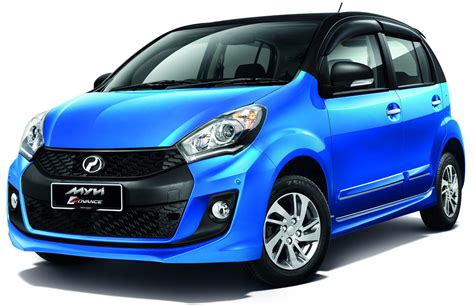 Perodua Myvi Advance Gets Two Tone Colour Scheme Se